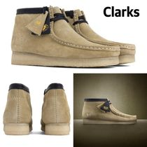 入手困難コラボ!CLARKS X WUTANG WALLABEE WW  Maple