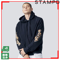 Stampd FUEGO HOODIE フード パーカー 袖プリント 関税送料込