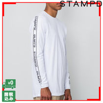 Stampd DLMTS ロングスリーブ TEE 袖プリント ロンT 関税送料込