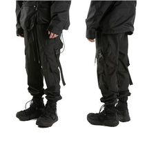 大人気!【Raucohouse】 Rip cargo jogger pants/男女兼用