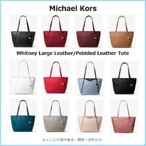 Michael Kors【国内発送】Whitney Large Leather Tote☆
