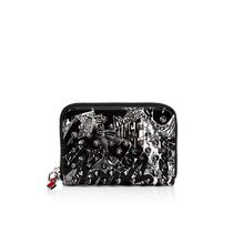 SS19 Louboutin ルブタン Panettone Coin Blk/Wht/MixMultiMetal