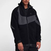 Nike Sportswear Reversible Jacket In Black