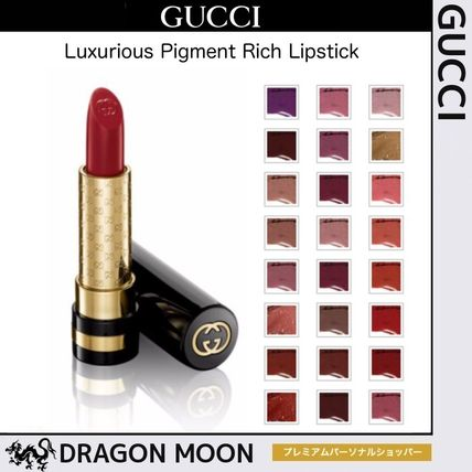 GUCCI リップグロス・口紅 グッチ★Luxurious Pigment Rich Lipstick