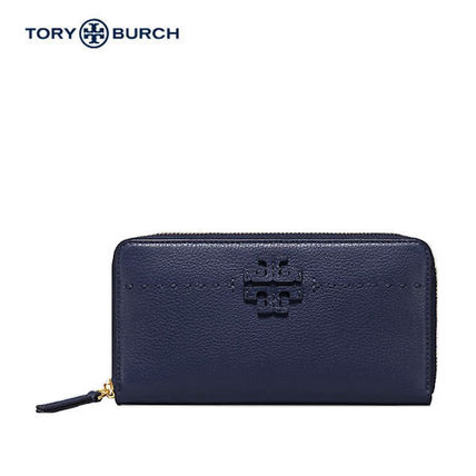 【即発】関税/送料込み TORY BURCH CONTINENTAL WALLET  Navy