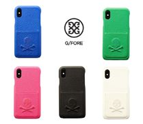 G FORE(ジーフォア) スマホケース・テックアクセサリー G FORE(ジーフォア)のキラーTのIPHONE CASE X
