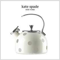 ★kate spade★deco dot tea kettle★ティー・ケトル♪
