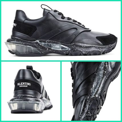【VALENTINO】BOUNCE LEATHER SNEAKERS