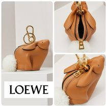 【LOEWE】キーホルダー♪《sac Bunny》LIGHT CARAMEL ◆追跡付!
