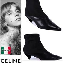 CELINE V-Neck Booties