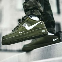 Nike(ナイキ) スニーカー 【Nike】AIR FORCE1 '07 LV8★UTILITY カーキ AJ7747-300