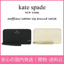 【期間限定】Saffiano leather zip around walletセール