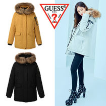 BLACKPINK着用モデル Guess  SUPEREXPLORER ダウン YI4W5999
