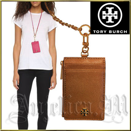 0fb2f69012fa Tory Burch パスケース ☆オシャレ☆TORY BURCH EMERSON LANYARD CARD CASE 52905 ...