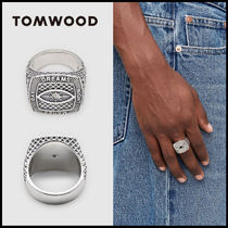 関税送料込!Tom Wood Champion Ring Crystal Eye