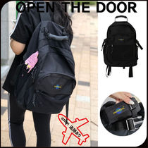 【OPEN THE DOOR】人気★Universal Backpack ☆彡バックパック