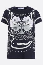 Givenchy□AW18/19カッコいい Gemini プリント コットン tshirt