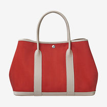 HERMES 大人気中!Garden Party 36tote bag rouge duchesse craie