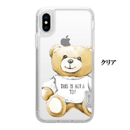 Casetify iPhone・スマホケース 【ケースティファイ】くま This Is Not a Toy★iphoneX ケース(4)