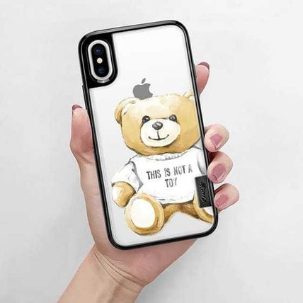 Casetify iPhone・スマホケース 【ケースティファイ】くま This Is Not a Toy★iphoneX ケース(10)