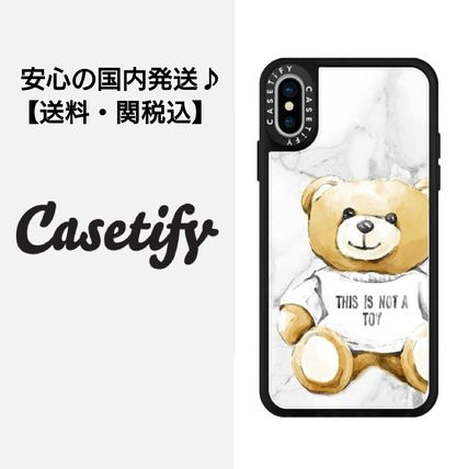 Casetify iPhone・スマホケース 【ケースティファイ】くま This Is Not a Toy★iphoneX ケース