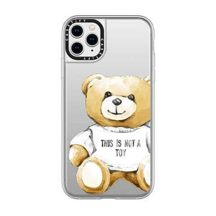 Casetify iPhone・スマホケース 【ケースティファイ】くま This Is Not a Toy★iphoneX ケース(15)