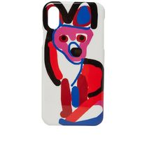 即配★MAISON KITSUNE 18AW IPHONE X CASE ACIDE FOX 今期新作