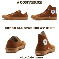 限定【CONVERSE】コンバース SUEDE ALL STAR 100 WV HI OX
