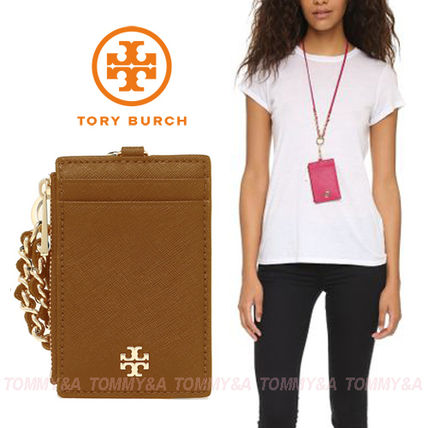c3a2dbd40dda Tory Burch カードケース・名刺入れ オシャレで便利☆TORY BURCH EMERSON LANYARD CARD ...