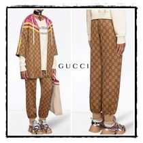 関税込/GUCCI GG technical jersey jogging pant