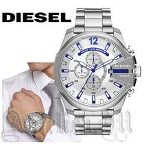 ★安心ヤマト便★Diesel  Mega Chief Stainless-Steel DZ4477