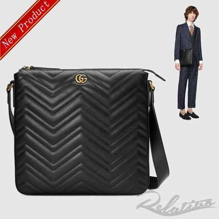 timeless design 45a04 17d44 ☆完売必須☆【GUCCI】GGマーモント メッセンジャーバッグ
