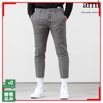 Ami TAILORED PANTS CROPPED TROUSERS クロップド 関税送料込