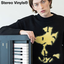 STEREO VINYLS COLLECTION(ステレオビニールズコレクション) ニット・セーター ★STEREO VINYLS★ [Peanuts] Woodstock Pullover Knit