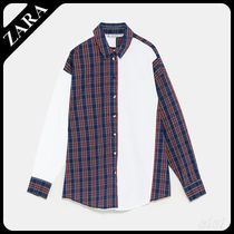 ★ZARA★ザラ  PATCHWORK SHIRT