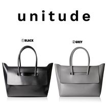 【unitude】●日本未入荷● FLAP CLOSURE HANDBAG