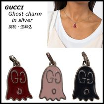 *GUCCI*ペンダントトップ Ghost charm in silver 関税/送料込