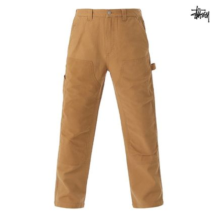 ★STUSSY★CONTRAST WORK PANTS ブラウン