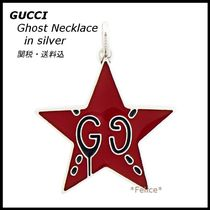 *GUCCI*Ghost Necklace in silver 関税/送料込