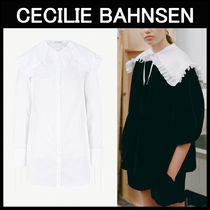 CECILIE BAHNSEN(セシリエバーンセン) ブラウス・シャツ CECILIE BAHNSEN〓Camille ホワイトトップス