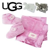 UGG☆BIXBEE BOOTIE AND LOVEY BLANKET 選べる3色♪出産祝に最適