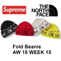 Supreme シュプリーム The North Face Fold Beanie 18 AW WEEK15