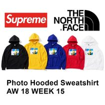 The North Face + SUPREME Photo Hooded Sweatshirt AW18 WEEK15