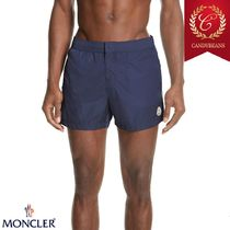 ◆Moncler モンクレール Boxer Mare 速乾性ボクサー水着 Blue