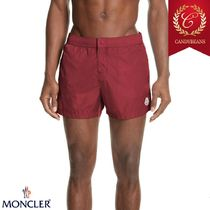 ◆Moncler モンクレール Boxer Mare 速乾性ボクサー水着 Red