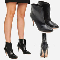 RESERVED / 新作 スタッズアンクルブーツ Studded ankle boots