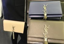 VIP SALE!【Saint Laurent】Kate Tassel Chain Wallet