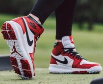【NIKE】AIR JORDAN RETRO 1 HI GOLF OG 917717-100 'CHICAGO'