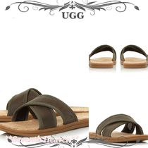 送料込☆UGG Seaside Slide Mule Cork Sandals メンズサンダル