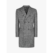 JAEGER(イエ−ガ−) コートその他 最新作 JAEGER Double Breasted Herringbone Coat
